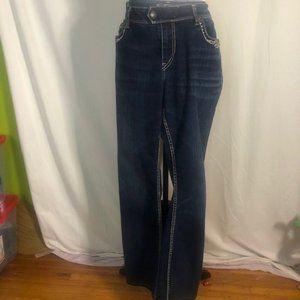 Silver Tuesday Jeans Women's 18W/33L